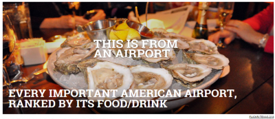 Best American Airports for Eating