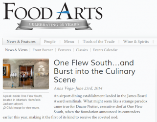 One Flew South…and Burst into the Culinary Scene